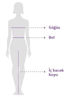 Kadin Giyim Ölçü Bilgileri